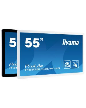"iiyama ProLite TF5538UHSC-W1AG 55"" 12pt Open Frame PCAP touch monitor with edge-to-edge glass"