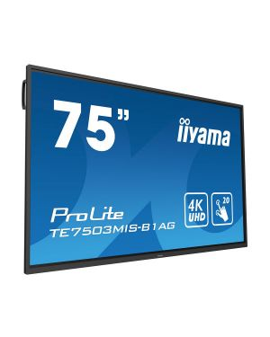 iiyama - 75'' interactive 4K UHD LCD Touchscreen with integrated annotation software