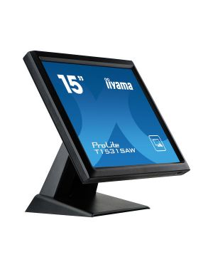 "iiyama ProLite T1531SAW-B5 15"" monitor with Surface Acoustic Wave touch technology"