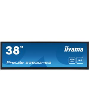 "iiyama - 38"" stretched digital signage display with 24/7 operating time"
