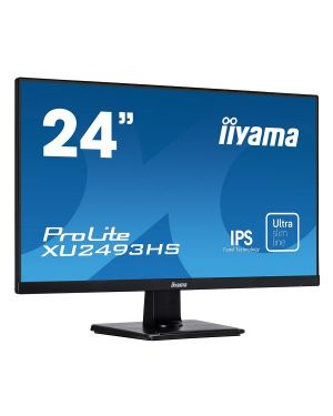 "iiyama ProLite XU2493HS-B1 23.8"" IPS monitor with ultra-slim bezel and ultra-flat front"