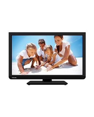 "TOSHIBA 22D1337DB-3YW - 22""Toshiba LED TV with an Integrated DVD layer & Full HD resolution. (Manufacturer's SKU:22D1337DB) - Discontinued"