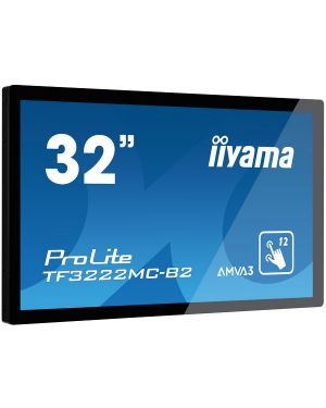"iiyama ProLite TF3222MC-B2 32"" 12pt open frame touch monitor built into an eye catching slim bezel with high brightness"