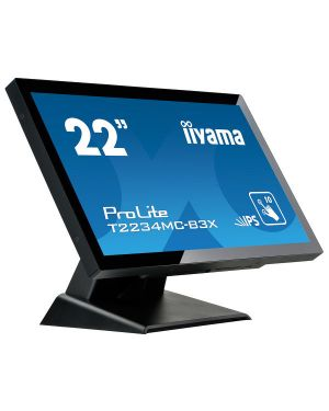 "iiyama ProLite T2234MC-B3X 22"" P-Cap 10pt touch screen featuring IPS technology"