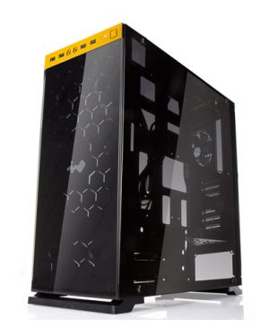 InWin 805C Gold Tempered Glass Gaming Case
