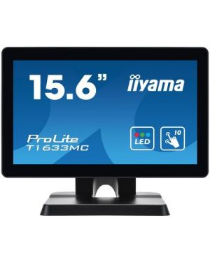 "iiyama - 15.6"" P-Cap 10 point multi-touch monitor with edge-to-edge glass"