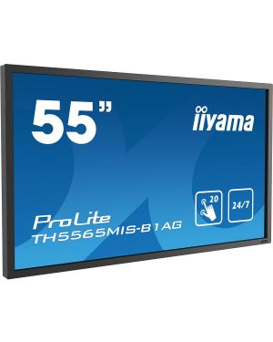"iiyama ProLite TH5565MIS-B1AG 55"" professional 24/7 touch display with 20 compatible touch points"