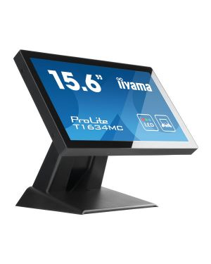 "iiyama ProLite T1634MC-B5X 15.6"" P-Cap 10 point multi-touch monitor with edge-to-edge glass"