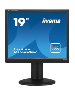 "iiyama ProLite B1980SD-B1 19"" 5:4 Monitor Fitted with Privacy Filter"