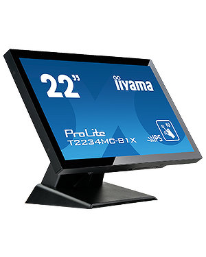 "iiyama ProLite T2234MC-B1X  22"" P-Cap 10pt touch screen featuring IPS technology"