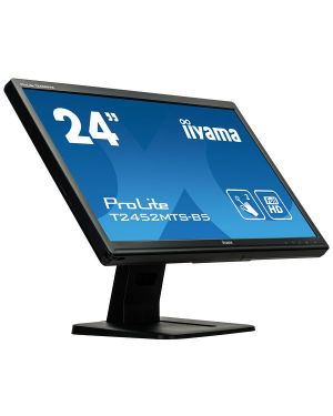 """iiyama ProLite T2452MTS-B5 24"""" Dual Touch screen, based on Optical Touch Screen Technology"""