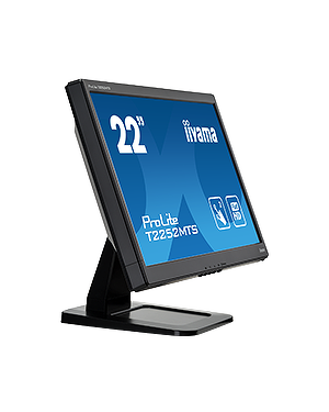 "iiyama ProLite T2252MTS-b3  The ProLite T2252MTS is a 22"" two-point multi touch monitor based on the latest Optical Touch Screen Technology with a 1920 x 1080 High Definition LCD Screen."