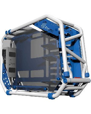 InWin D-Frame Signature Series Gaming Case (White/Blue)