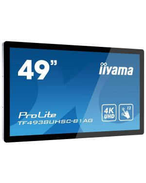 "iiyama ProLite TF4938UHSC-B1AG 49"" 12pt Open Frame PCAP touch monitor with edge-to-edge glass"