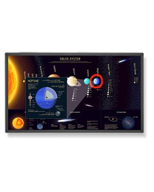"NEC E651-T signage display 165.1 cm (65"") LCD Full HD Touchscreen Digital signage flat panel Black"
