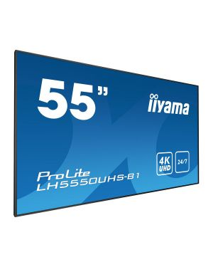 "iiyama ProLite LH5550UHS-B1  55"" Professional Digital Signage display with a 24/7 operating time, 4K UHD resolution and a portrait/landscape orientation"