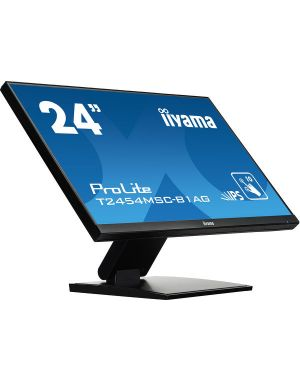 "iiyama ProLite T2454MSC-B1AG 24"" P-CAP 10pt touch screen featuring IPS panel technology and Anti Glare coating"