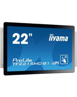 iiyama ProLite TF2215MC-B1 Open Frame PCAP 10 point touch screen equipped with a foam seal finish for seamless integration