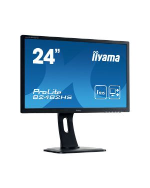 iiyama ProLite B2482HS-B1 Full HD LED monitor with 1 ms response time, perfect choice for home and office