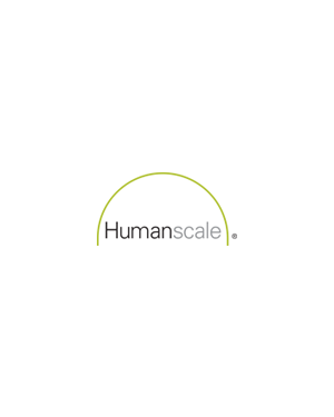 Humanscale Alu/White sliding Clamp 25mm