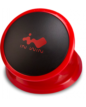 InWin iEar Headphone Holder (Red)