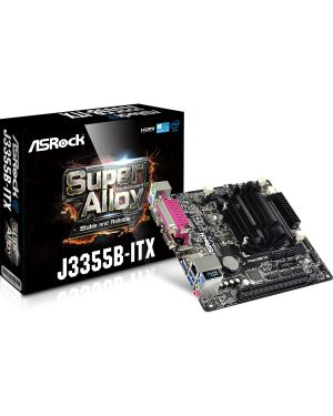 Asrock - Dual Core 2.5GHz Integrated CPU Mini-ITX