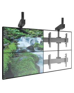 Chief - FUSION Micro-Adjustable Large Ceiling Mounted 2 x 2 Video Wall Solutions