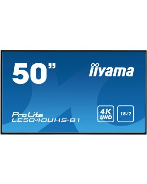 "iiyama 50"" Professional Digital Signage display with a 18/7 operating time and a 4K UHD resolution"