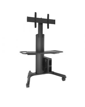 Chief - Large Fusion Manual Height Adjustable Mobile AV Cart