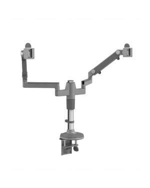 Humanscale Silver w Grey Trim M/Flex Monitor Arm (for 2 Monitor)  (Manufacturer's SKU: MF22S22C12)