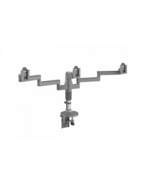 Humanscale Silver w Grey Trim M/Flex Monitor Arm (for 3 Monitor)  (Manufacturer's SKU: MF23S303C12)