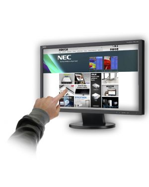 NEC AccuSync AS222Wi 22 Monitor fitted with 10 point PCAP Touchscreen