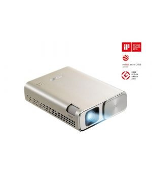 Asus ASUS ZenBeam Go E1Z   ASUS ZenBeam Go E1Z USB Pocket Projector, 150 Lumens, Built-in 6400mAh Battery, Up to 5-hour Projection time, Power Bank, Auto Keystone Correction, Micro USB / Type-C