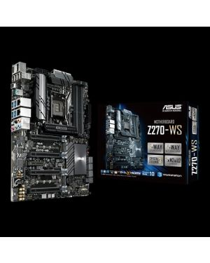 Asus WS Z390 PRO  Intel LGA 1151 ATX motherboard with AI Overclocking, quad-GPU support, DDR4 4266 MHz, Dual M.2, Intel Optane memory ready, SATA 6Gb/s, USB 3.1 Gen 2 Type-C and front-panel connectors
