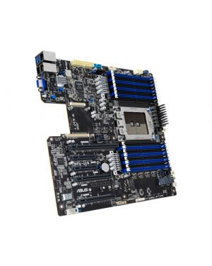 Asus - AMD EPYC 7002 LGA 4094 EEB server motherboard with DDR4 3200 MHz, PCIe 4.0