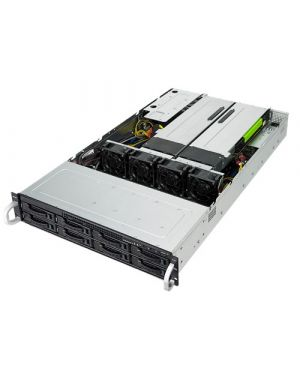 Asus - RS720-E9-RS8-G GPU-optimized 2U scalable server for HPC, data visualization and rendering workloads