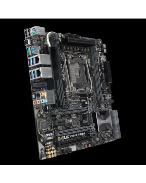 Asus X99-M WS/SE  The most-powerful X99 micro-ATX with USB 3.1 on board