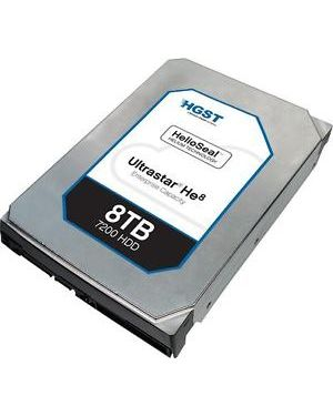 WD HGST 3.5in 26.1MM 8000GB 128MB 7200RPM SAS ULTRA 512E ISE HE8