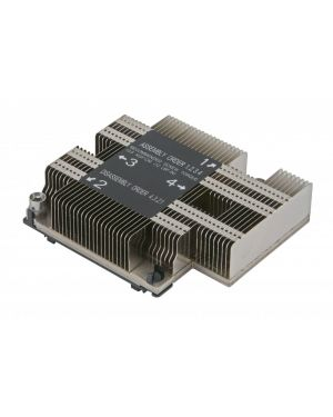 Supermicro - 1U Passive CPU Heat Sink Socket LGA3647-0 (SNK-P0067PD) Square
