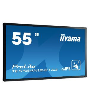 "iiyama ProLite TE5564MIS-B1AG 138.7 cm (54.6"") LED Full HD Touchscreen Digital signage flat panel Black"
