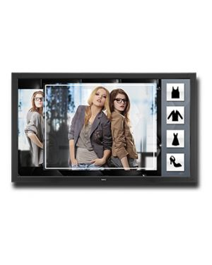 "NEC MultiSync V801-TM signage display 2.03 m (80"") LCD Full HD Touchscreen Digital signage flat panel Black"