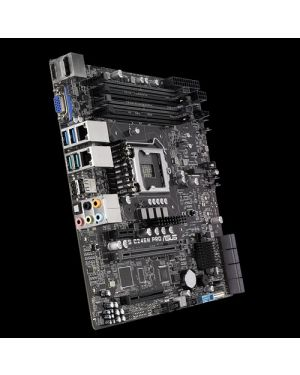 Asus WS C246M PRO  Compact, rack-optimized Intel® LGA1151 micro-ATX motherboard with M.2, USB 3.1 Gen2 connectors and dual Gigabit LAN