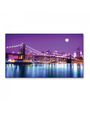 "NEC - 46"" Low Bright Ultra-Narrow Professional-Grade Large Screen Display"
