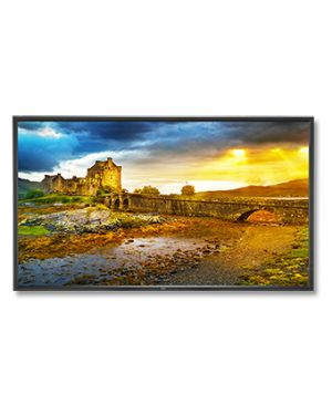 "NEC X651UHD-2 signage display 165.1 cm (65"") LCD 4K Ultra HD Digital signage flat panel Black"