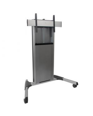 Chief - X-Large Fusion Manual Height Adjustable Mobile AV Cart