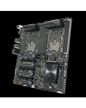 Asus WS C621E SAGE  Intel® C621 motherboard with quad-strength graphics support and 12 DDR4 memory slots